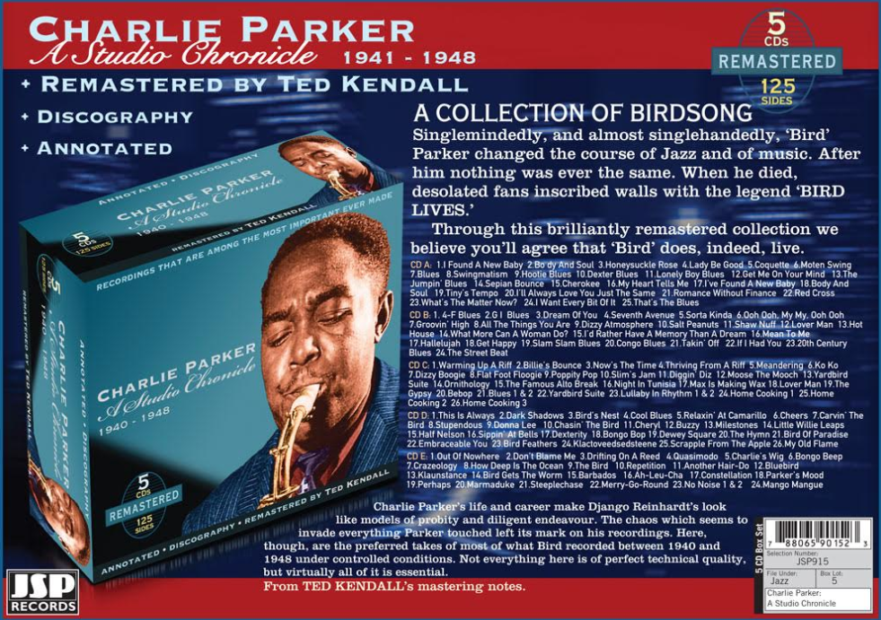 Charlie Parker - A Studio Chronicle