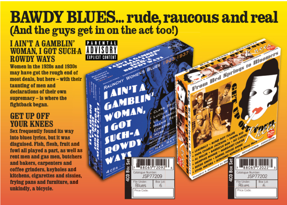 Bawdy Blues...Rude Raucous and Real